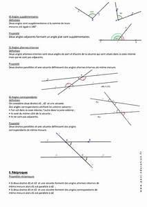 Controle Technique Les Angles : angles parall lisme 5 me cours pass education ~ Gottalentnigeria.com Avis de Voitures