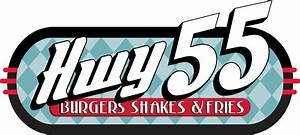 Hwy 55 Burgers, Shakes & Fries Loyalogy