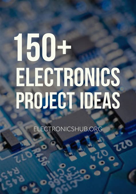 Elektronik Projekte Ideen 150 electronics projects for engineering students