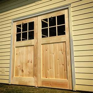 building huge carriage style doors christian moist With build carriage garage doors
