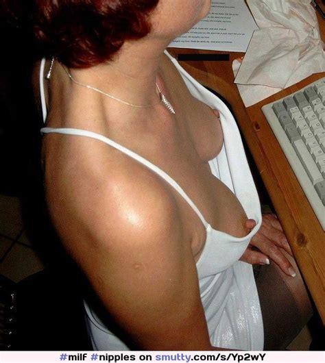 Milf Downblouse Big Hard Nipples Milf Nipples