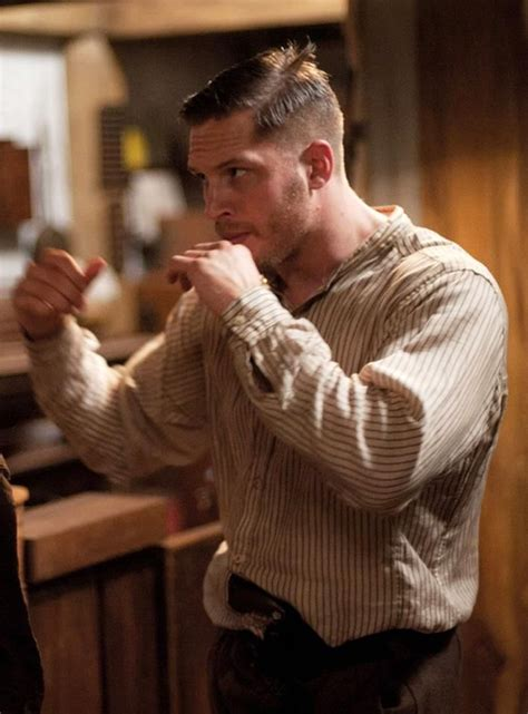 tom hardy lawless haircut haircut tom hardy on the set of lawless fashionable