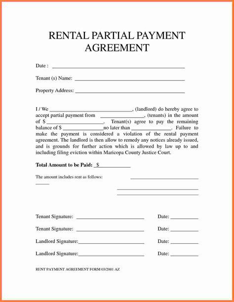Payment Agreement Template 5 Payment Agreement Template Marital Settlements
