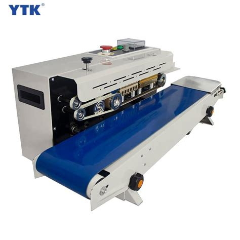 ytk fr  automatic horizontal continuous plastic bag band sealing machine