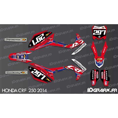 kit decoration crf replica honda cr crf 125 250 450 idgrafix