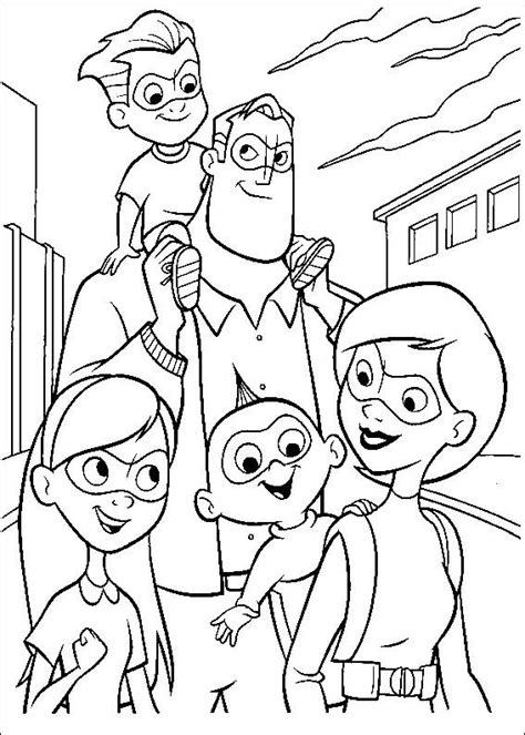 kids  funcom  coloring pages  incredibles