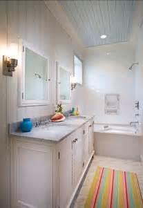 Beadboard Bathroom Ceiling Ideas