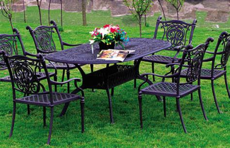 china cast aluminum outdoor furniture garden furniture