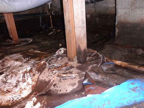 fix squeaky floors crawl space foundation repair and crawl space post replacement