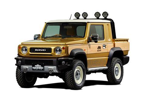2019 Suzuki Jimny Turned Into Pickup Truck For Tokyo Auto