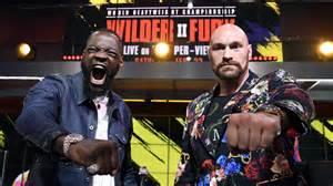 Tyson Fury Vs Deontay Wilder 2