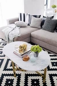 Tapis Ikea Noir Et Blanc : le tapis de salon dans quelques mots et beaucoup de photos ~ Teatrodelosmanantiales.com Idées de Décoration