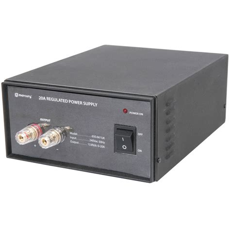 Switch Mode Bench Top Power Supply Connevans