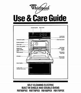Whirlpool Oven Rb760pxx User Guide