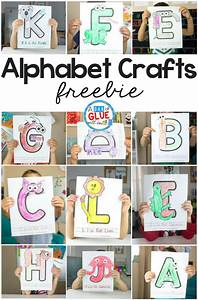 animal alphabet letter crafts a dab of glue will do With arts and crafts letters of the alphabet