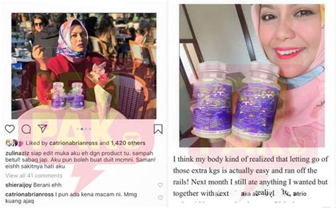 Siap Edit Muka Aku Sampah Betul Zulin Aziz Nak