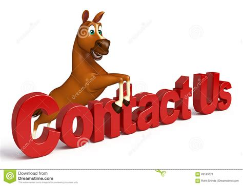 letter   cartoon horse cartoon vector cartoondealer