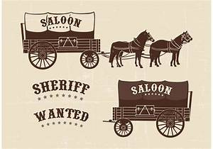 Free Covered Wagon Vector - Download Free Vector Art ...