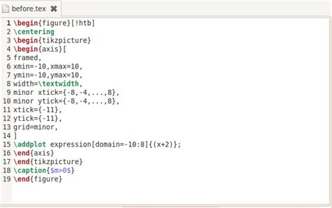 A Perl Script For Indenting .tex Files