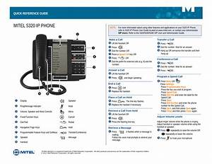 5330 Ip Phone Quick Reference Guide
