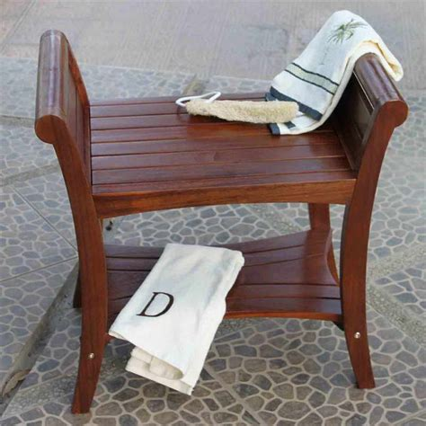 bathroom bench ideas bloombety cedar shower bench with cool designs why
