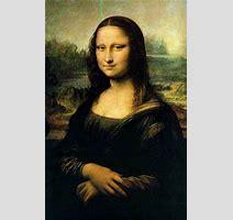 Mona Lisa Painted From To Leonardo Davinci