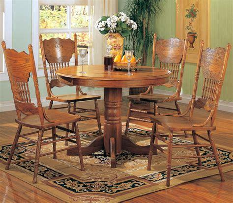 Oak Dining Set by Santa Clara Furniture Store San Jose Furniture Store