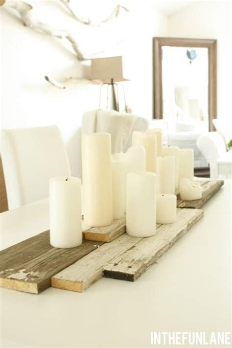 everyday table centerpieces on pinterest everyday this barn board table is ideal for any rusticwedding