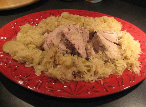 sauerkraut recipes pork roast and sauerkraut