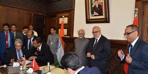 chambre de commerce franco indienne la chambre de commerce maroco indienne se met en place l