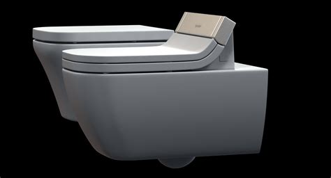duravit happy d toilet 2 3d model max obj 3ds fbx cgtrader