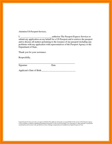 sample authorization letter template  collect
