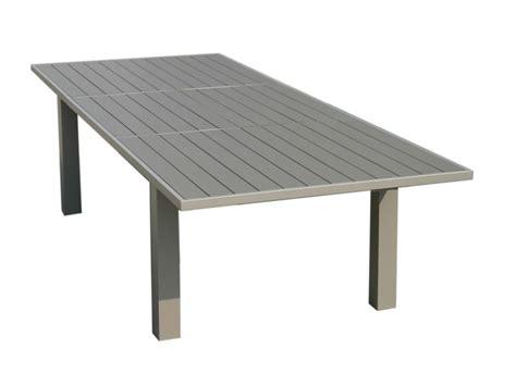 Table Exterieure Aluminium Table De Jardin Couleur