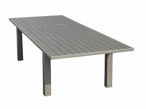 Table De Jardin En Aluminium : table exterieure aluminium table de jardin couleur reference maison ~ Teatrodelosmanantiales.com Idées de Décoration