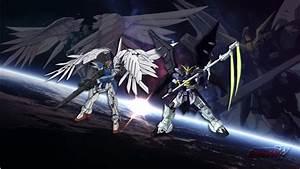 Gundam Wing + Gundam Deathscythe by Thornnnn on DeviantArt