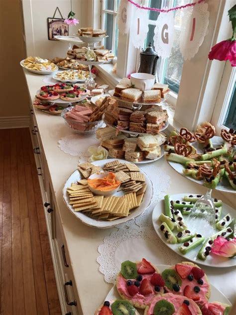 birthday tea party   tea  year  birthday