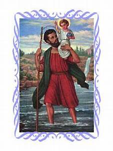 Saint Christophe Patron : saint christopher new adventures and saints on pinterest ~ Medecine-chirurgie-esthetiques.com Avis de Voitures