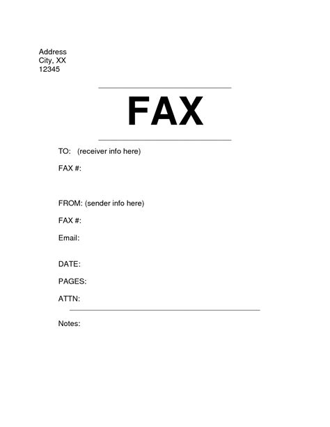 15055 fax cover letter template microsoft office fax cover sheet template