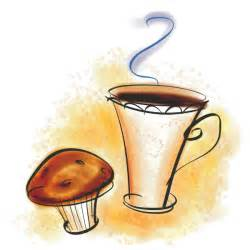 Coffee and Muffin Clip Art