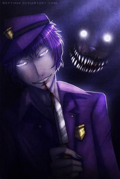 Fnaf Purple Guy Fanart Deviantart Neytirix