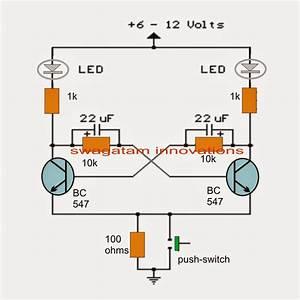 Transistor Bistable Flip Flop Circuits