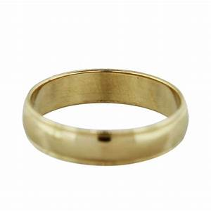 14k yellow gold mens wedding band ring boca raton With gold ring wedding band