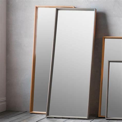 long grey comet wall mirror wall mirrors homesdirect