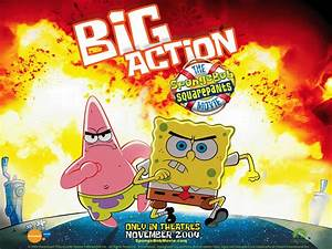 The Spongebob Squarepants Movie Poster Wallpap #5598 ...