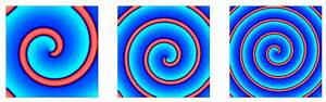 2 Spiral Waves In The Fitzhugh U2013nagumo Model For Varying  U03b1