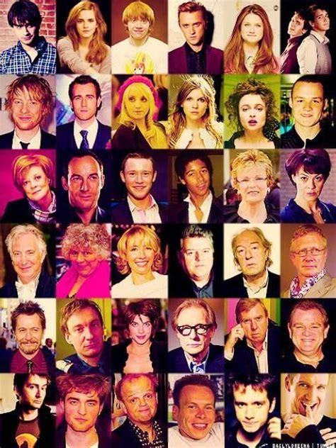 Hp Cast  Harry Potter Pinterest