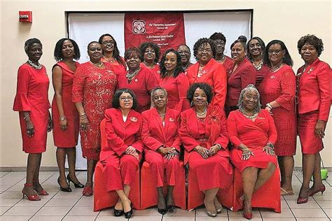 calendar charmettes present women red luncheon palm coast