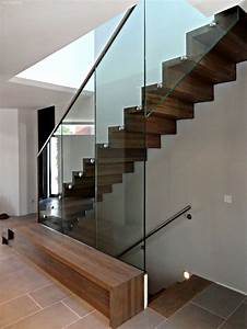 Stahltreppe Mit Holzstufen : die besten 17 ideen zu holztreppe auf pinterest treppe ~ Michelbontemps.com Haus und Dekorationen
