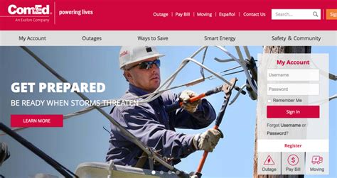 comed power outage login problems     usa
