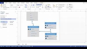 Visio 2013 - Database Diagram  Crows Foot Notation